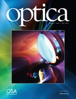 PhD students' research on single molecule light field microscopy published in Optica
