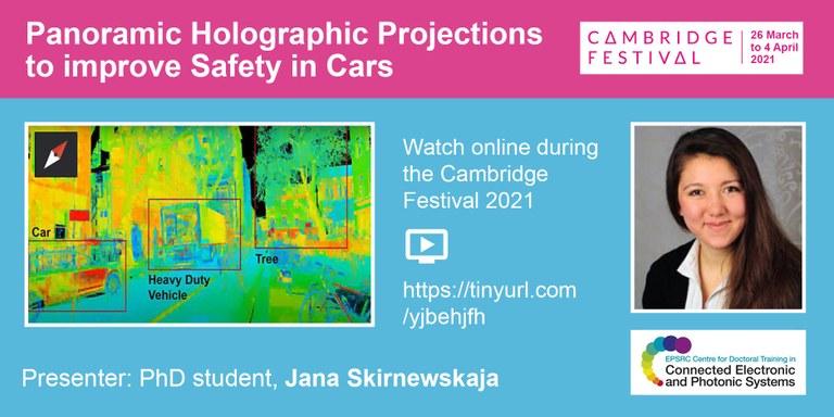 Web banner - Cambridge Science Festival 2021