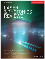 Cover of Laser Photonics Reviews April 2020